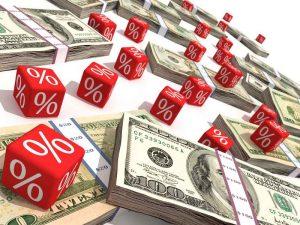 Рассчитать проценты, обратно получаемые от стоимости кредита