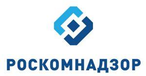 Логотип службы Роскомнадзора