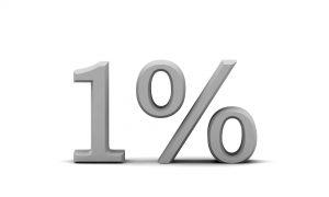 оплата 1%