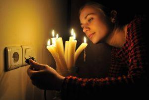 что делать при отключении света за неуплату
