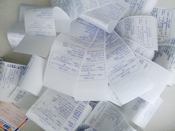 Почтовые квитанции - важный документ