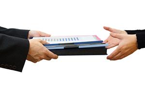Как передавать документ