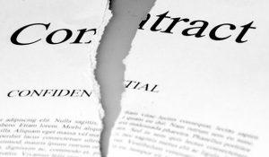 Как написать заявление о расторжении договора