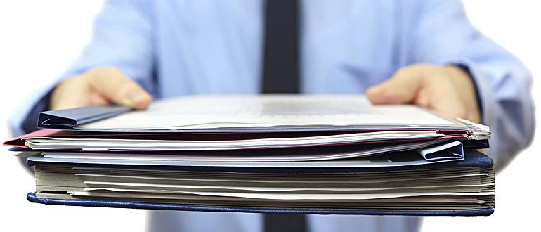 Документы для наследства по закону